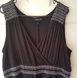 Lane Bryant Embroidered Dress